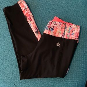 Cropped Reebok leggings